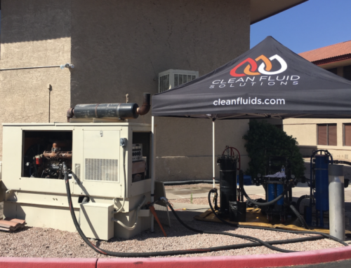 Generator Fuel Cleaning Service