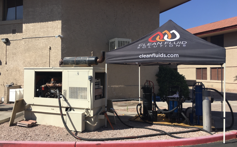 Keeping your generator's fuel & reservoir clean | Clean Fluids Solutions